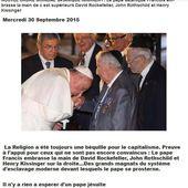 """"""" L'inquiétante et dangereuse alliance du #Vatican avec #Rothschild """" - MOINS de BIENS PLUS de LIENS"""