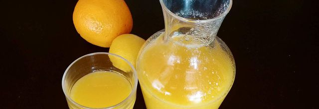 Jus d'oranges tonique au Thermomix