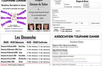 Dimanche 16 Mars 2014 - Stage Rumba.
