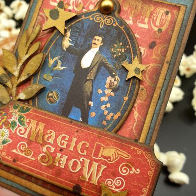 Magic Show Artist trading cards