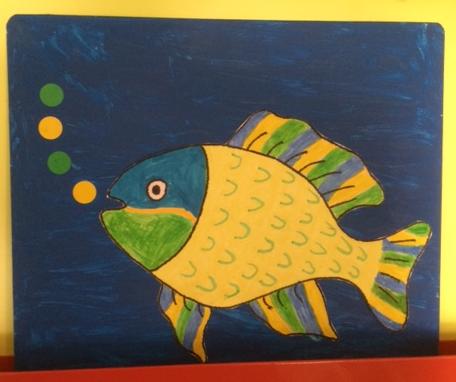 """Exposition de """"poissons d'avril"""""""