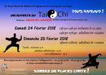 STAGE DECOUVERTE TAI CHI les 24 et 25 février prochains à la salle des fêtes de Saint-Hilaire-sur-Erre