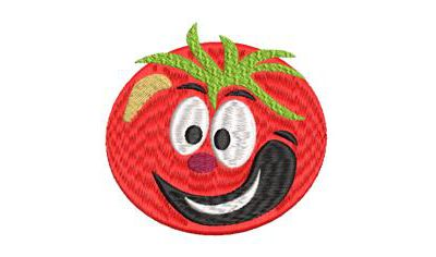 BRODERIE TOMATE BONHOMME