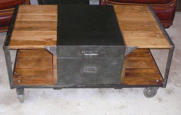 table basse mini bar