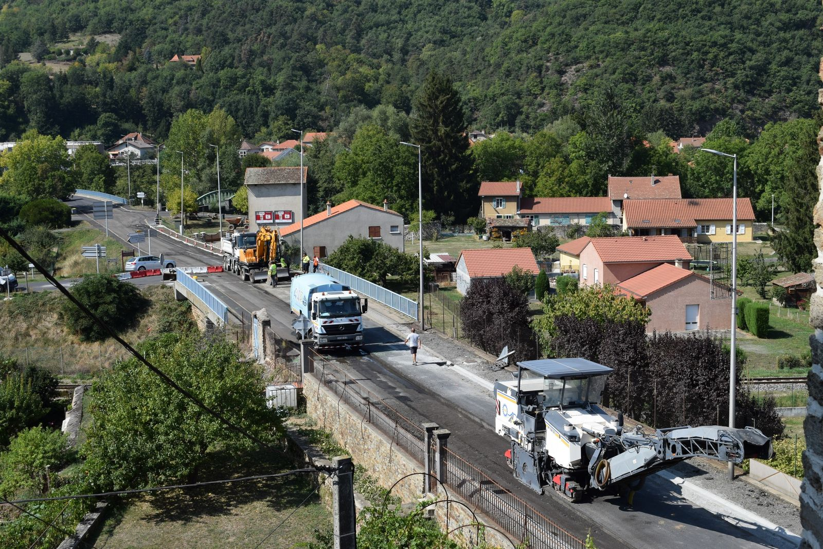Travaux à Massiac