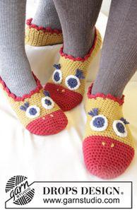 chaussons au nez rouge