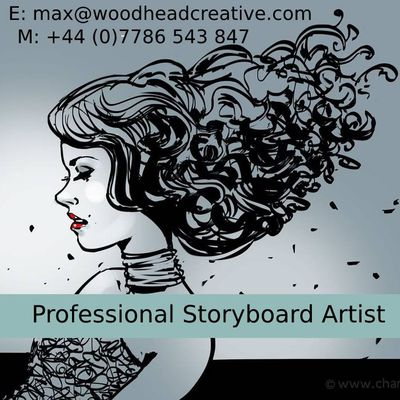London's Professional Storyboard Artist