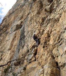 Week-end de grimpe...