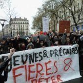 Lyon : une manifestation contre la loi Travail tendue sous une pluie battante