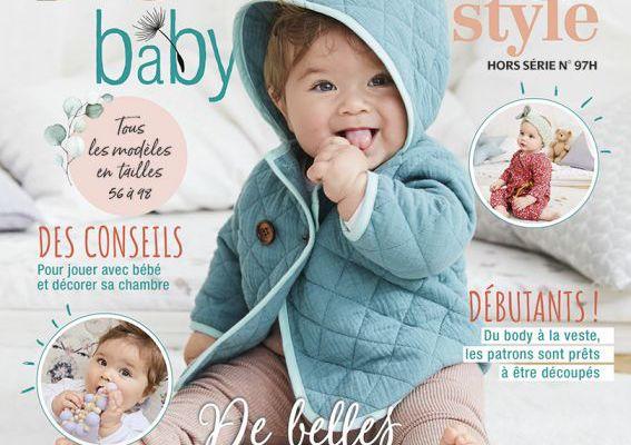 Magazines de novembre 2020: Burda HS Bébé et Accessoires
