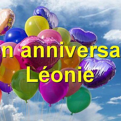 Bon anniversaire Léonie