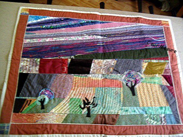 mes Créas  Divers  signés C' sur Mesure : mes patchworks, mes broderies, mes tricots, mes pts de x ...