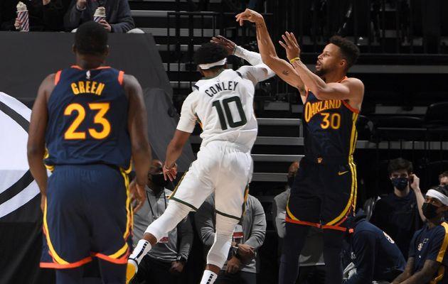 Le Jazz signe une huitième victoire consécutive malgré un Stephen Curry historique !