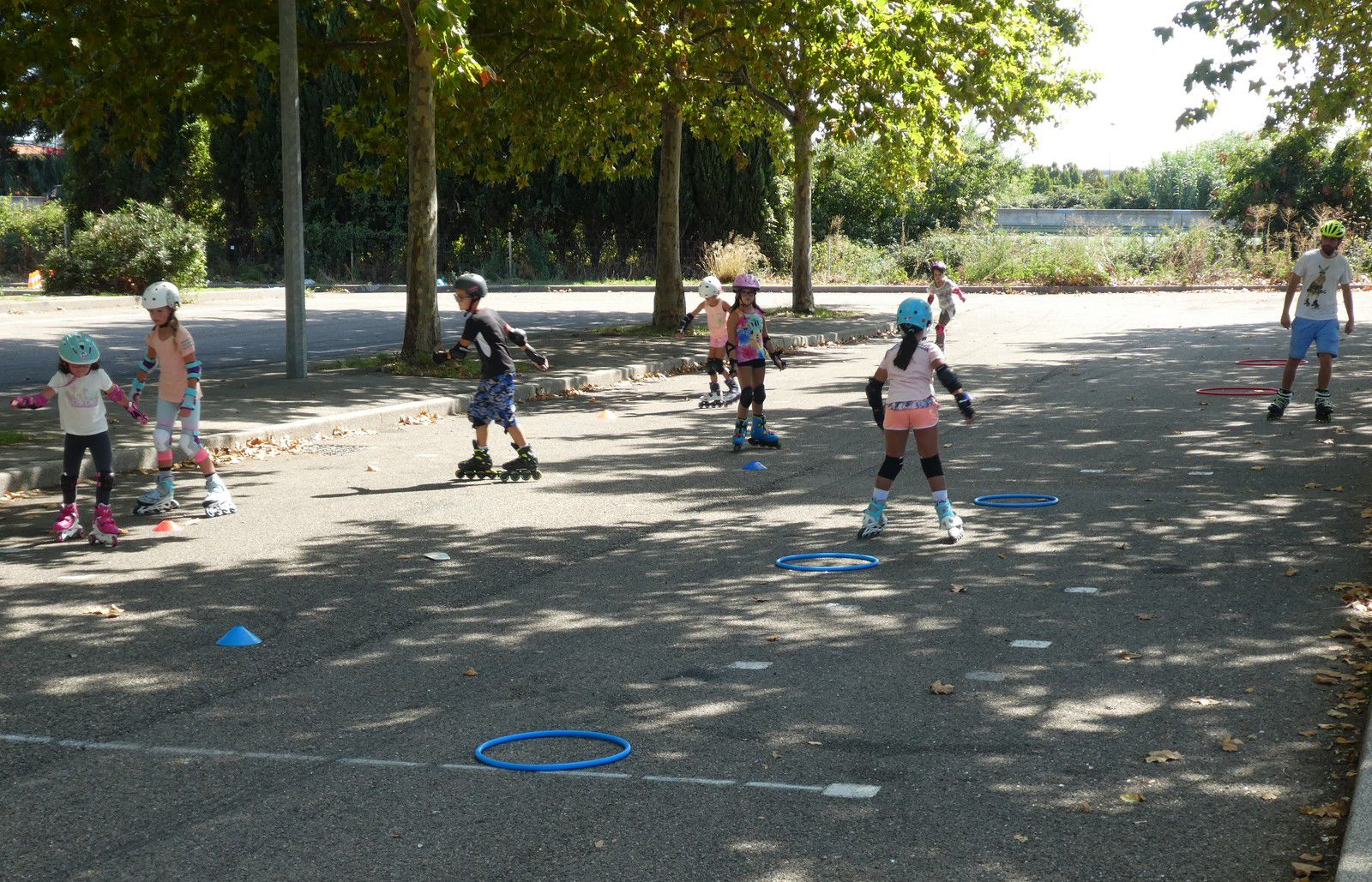 Club de sport, nimes, gard, roller, nimes, enfant, initiation, sport, faire,