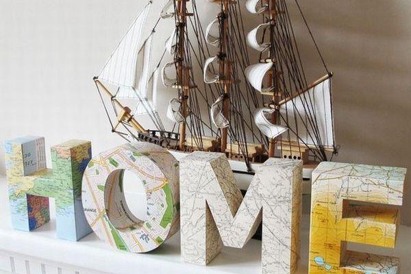 Une décoration mappemonde pour vous faire voyager