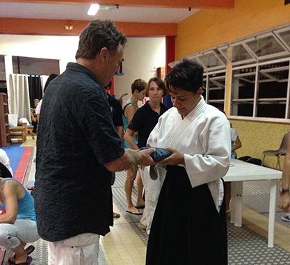 Pascale GERY - Aikido