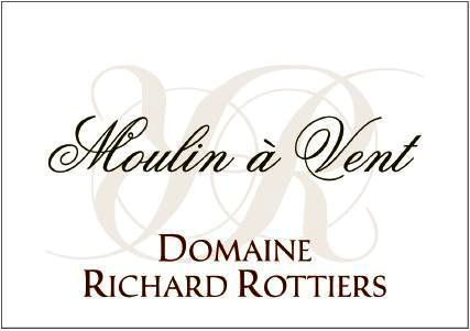 Domaine Richard Rottiers, Moulin à Vent 2008