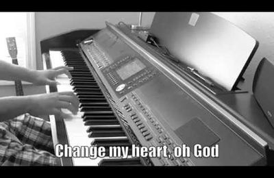 Change my heart Oh ! Lord - Harmonica C