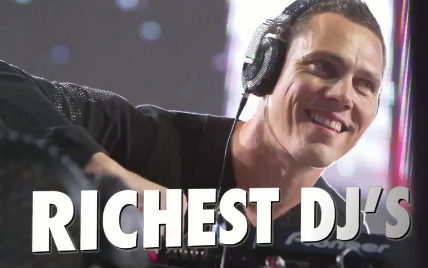 Tiësto n°1 : the 30 Richest DJs in the World