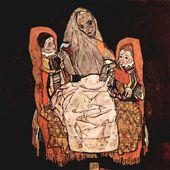 Egon Schiele - Femme et ses enfants - LANKAART