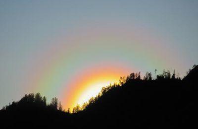 Coucher de soleil depuis Artigue