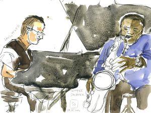 Wayne Shorter quartet (Ferté jazz festival, 7 juin 2014)