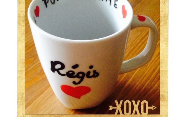 "Do It Yourself : un mug pour dire ""I Love You"""