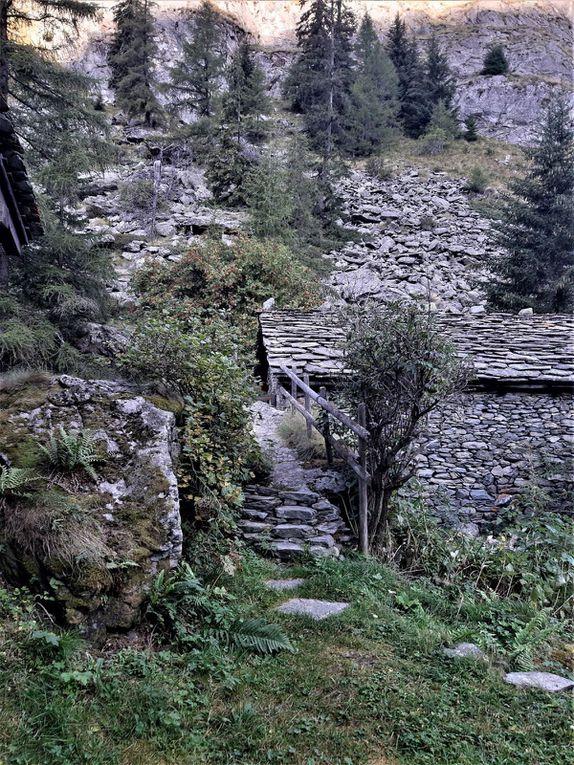 Vers le barrage de Toules.
