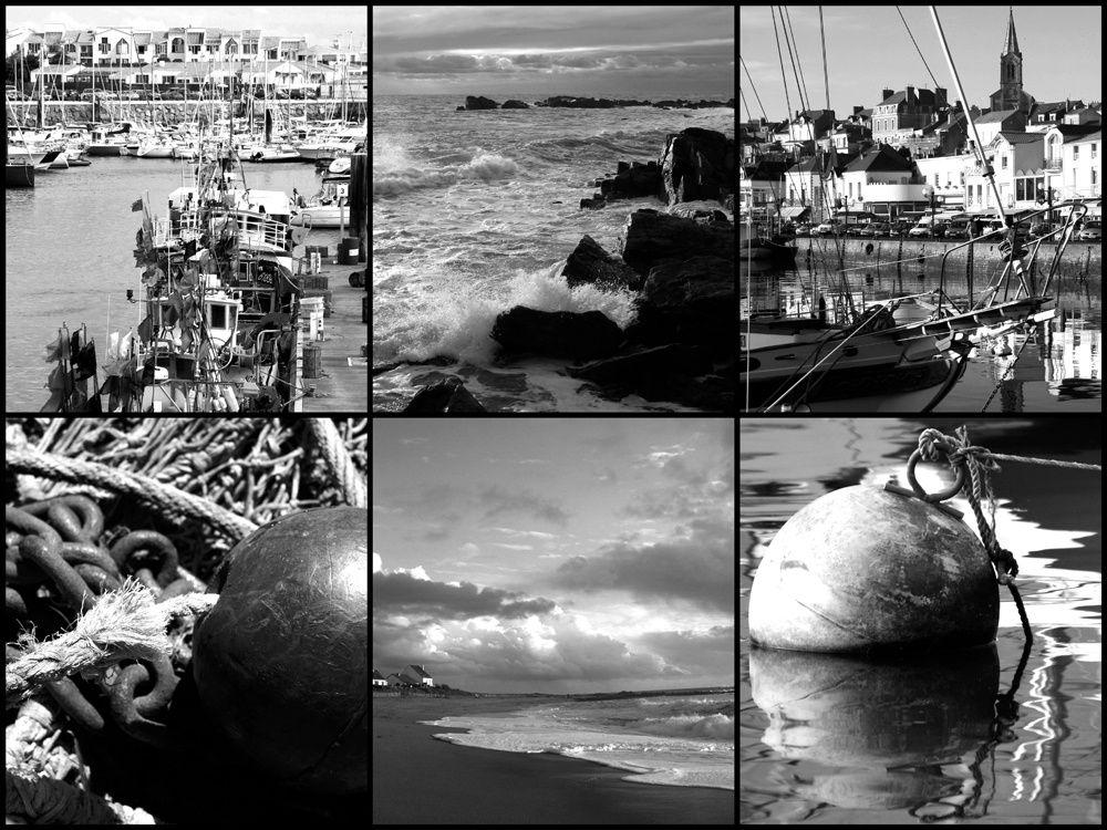 Cartes postales et montages photos de Bretagne - Photos Thierry Weber Photographe de Mer
