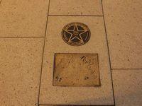 Walk of Fame devant le Warner Theatre