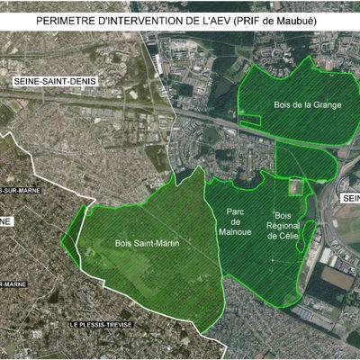 Bois Saint-Martin : création d'un périmètre d'espace national sensible