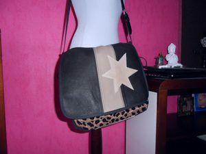 sac besace étoiles