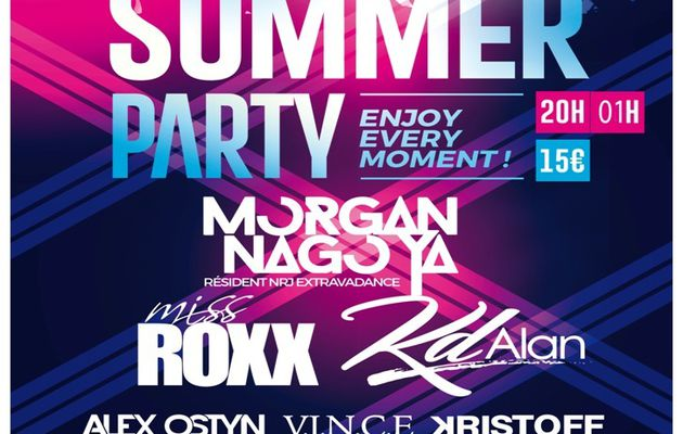 SUMMER PARTY...au TOUQUET PARIS  PLAGE...LE 28 JUILLET ...