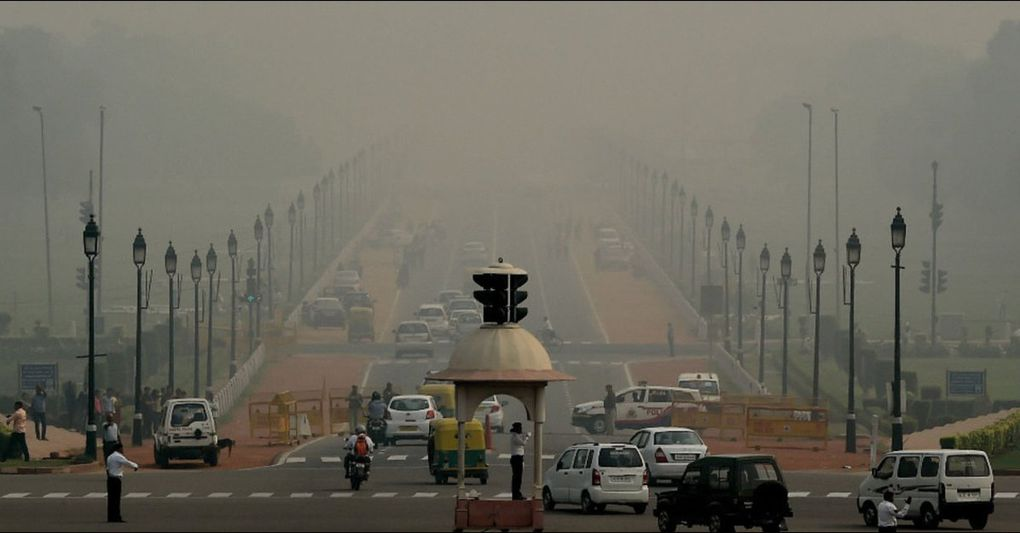 À New Delhi, le niveau de pollution de l'air a dépassé la norme de 42 fois