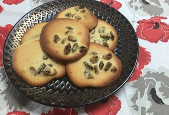 Biscuits aux raisins et au rhum
