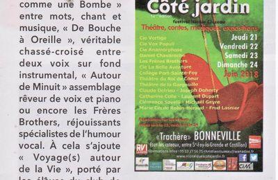 Festival Côté Jardin 2018 : Le choix du Sud Ouest !
