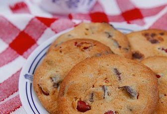 Cookies aux cacahuètes et au chocolat