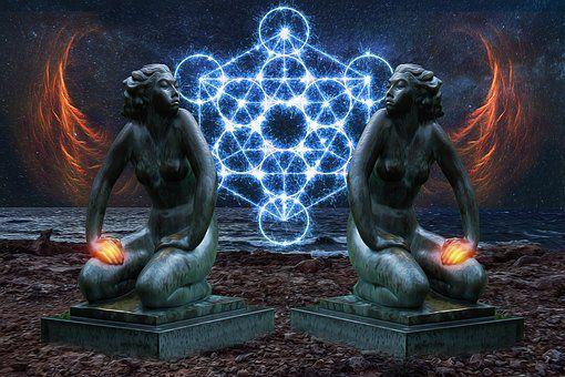 La dualité de la Lumière incarnée.