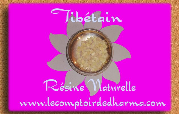 Tibétain Encens Sacré résine naturelle