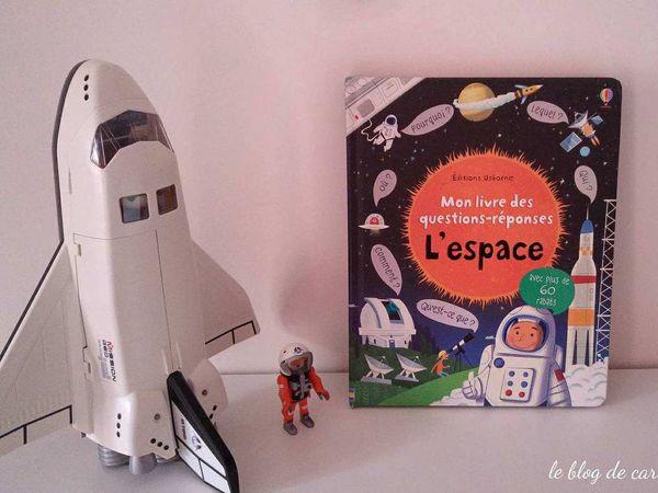 Mon livre des questions-réponses L'espace