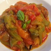Piperade basquaise - mes recettes omnicuiseur