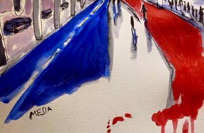 Nice 14 juillet 2016, la France meurtrie une nouvelle fois