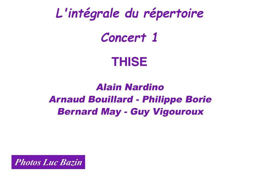 L'intégrale du répertoire, concert 1 Photos Luc Bazin