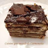 Mille feuilles de petit beurre - Cuisine gourmande de Carmencita