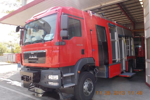 1/ Camions pompiers - Vehicules Incendies - MAN TGM 18 -280-Import Export Chine - Fire Trucks China - Camiones de Bomberos China - سيارات الإطفاء الصين
