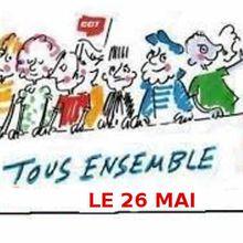 A une large majorité, le parlement de la CGT décide de participer à la marée humaine du 26 mai