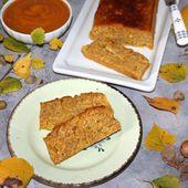 Gâteau d'automne aux flocons d'avoine - Chez Vanda
