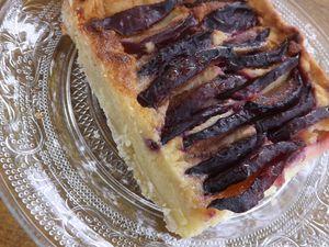 Tarte aux pommes,figues,prunes, raisins,poires et mon partenariat Cakemar