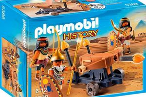 Playmobil History Soldats du pharaon avec baliste