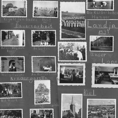 Alices1923/1937 Landjahr(Orginal Schrift und Album v. Alice)